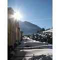 Austria Vordernberg winter snow sun