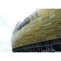 football stadium arena amber