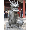 china beijing forbiddencity dragon statue