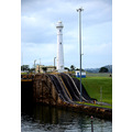 zuiderdam cruise locomotive track lighthouse panamacanal panama view