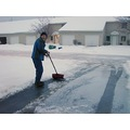 Doesnt my husband look so happy shoveling ice off of our driveway while I stand there in the nice...