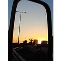 mirror reflection traffic sunset perth littleollie