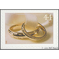 stlouis missouri us usa stamp postage collection 44_cent wedding rings 031210