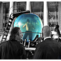 davidblaine NYC aquarium water sphere people magic