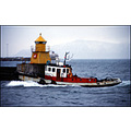 haki sea storm tugboat tug helping assistance reykjavik harbour lighthouse