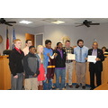 Lumberton Bell wrestlers Robeson Commissioners Watts Woods Taylor Roach