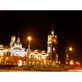 Dunedin RailwayStation Night Lights