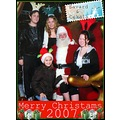 Family Holiday Santa Christmas