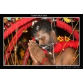 hindu abstract indian thaipusam