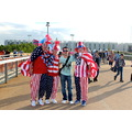 london 2012 american fans my brother olympic park