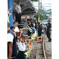 train opening children school Costa Rica