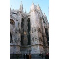 architecture sculpture building Cathedral view art history Milano Italy litz