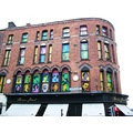 dublin ireland architecture faces art city centre history people jaro red brick
