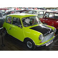 National Motor Museum Beaulieu Hampshire austin morris mini car cars exhibition