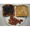 stlouis missouri us usa travel brown purple red peanut butter jelly pbj food