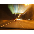 traffic speed night driving motorway