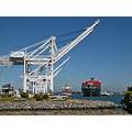 port ship ships crane cranes harbor oakportfph