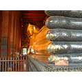 Wat Pho Temple The reclining Buddha Bangkok Thailand March 2006