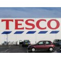 Tesco Advertising Logo Supermarket