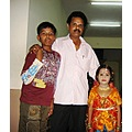 Chandra Sekaran along with Soorya and Durga