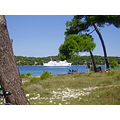 Croatia Losinj Adratic sea ferry