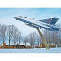 J35 Dragon F10 Angelholm 2013 Skane Sweden Snow Januari Aeroplane