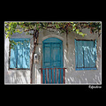 house abandoned architecture agiasos lesvos greece