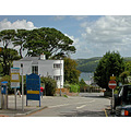 Cornwall Fowey Car Park UK Road