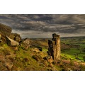 Peak District Derbyshire Pinnacle Curbar