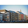 Buildings architecture modern quay waterford ireland
