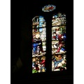italy arezzo church glass window italx arezx churi windx glasx