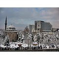 Turkey kayseri snow winter nese akbas city