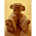 msnoordam cruise ship art monkey towels towelart