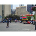 At 5:40pm.Outside at Rogers Centre-On Bremner Blvd.,Toronto,Ont.,On Saturday,June 8,2013