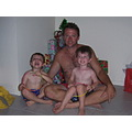 Xmas 2008  waiting up for Santa (only lasted til about 8pm tho!)