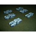 Wargaming ww2 scale model mini tanks