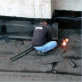 workman fire flame work