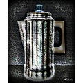 coffeepot artwork texture digitalartclub mellie