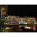 Helsingborg City Christmas Light Dunkers 2011 December Skane Sweden