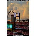 St Louis Missouri MO US USA rainbow Cardinals baseball