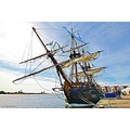Gotheborg Ship Replica 2003 Original 1738 Sweden Landskrona May 2013 Sails