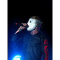 Slipknot metal music microphone mosh hardcore rock hard heavy mask S