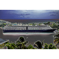 msnoordam cruise ship view castries stlucia