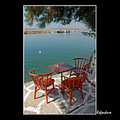 port sea sygri bay cafe lesvos greece