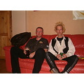 Two miserable gits on Mels settee :)