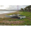 beach hawaii catamaran boat
