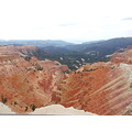 Cedar Breaks National Park. Taken with a phone camera, nothing I can do about the white out sky. :(