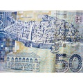 dubrovnik kroatia money blue kuna note