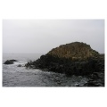 giants causeway ireland stones water sea