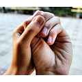 hands together symbol love friendship